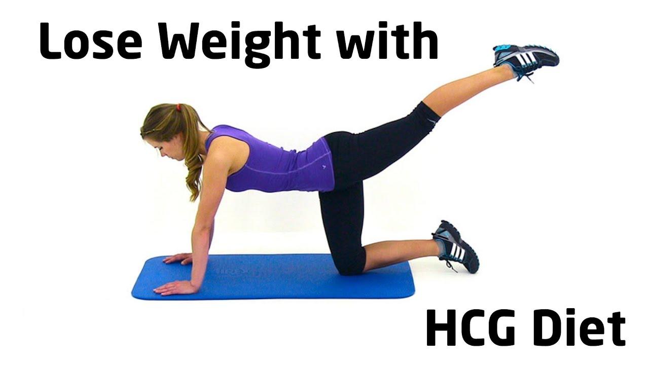 Miste vekt raskt med HCG