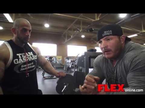 Flex Lewis Bicep Workout