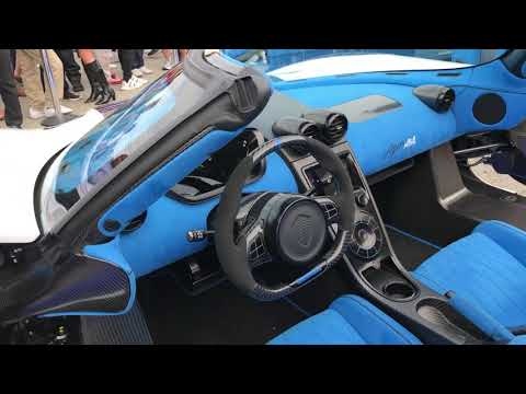 Koenigsegg At Exotics On Cannery Row 2017