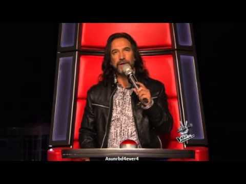 David Bisbal Presentaci�n La Voz M�xico 3 (3/3)