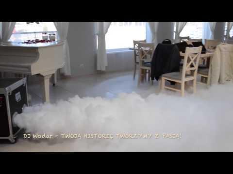 Pierwszy Taniec W Chmurach! Profesjonalny Ciężki Dym - DJ Wodar