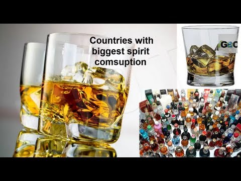Consumo Alcohol en el mundo / Alcohol Consuption in the world   [ IGEO.TV ]