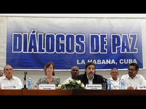 Colombian child soldiers to be removed from FARC rebel ranks