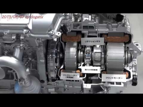 Japan Trip 2013 Tokyo TOYOTA HYBRID Engine 900