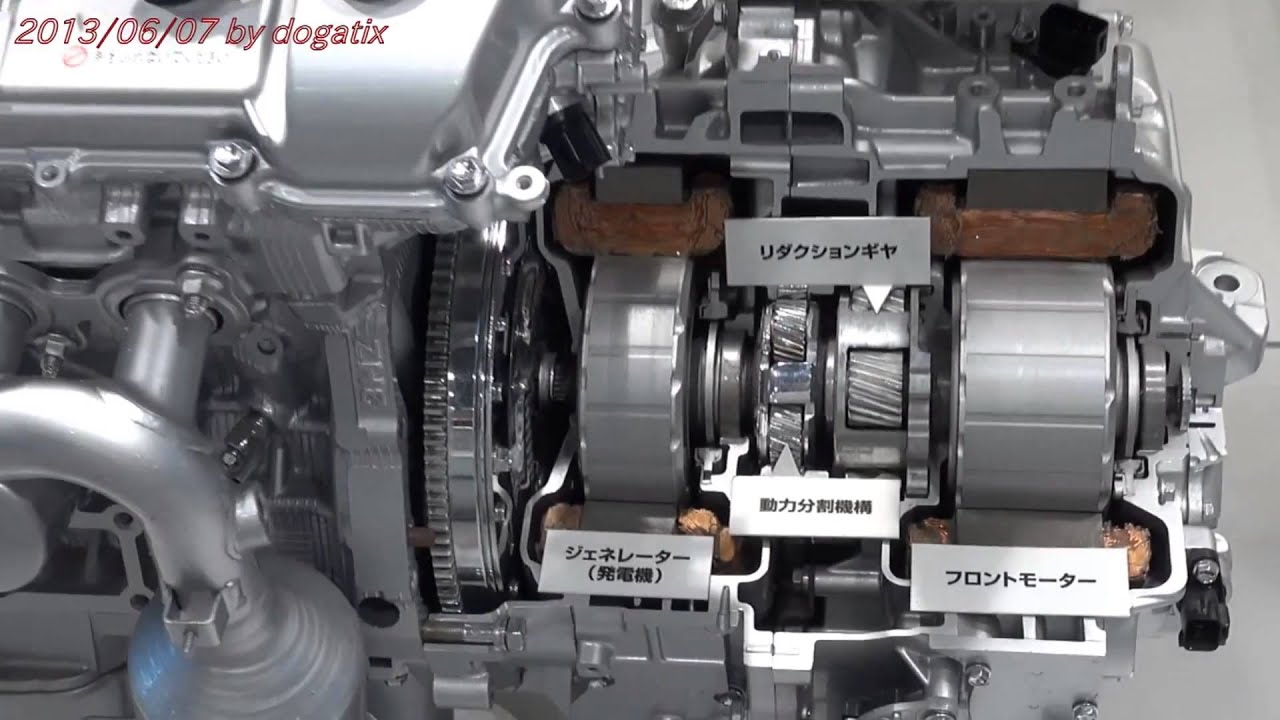 Japan Trip 2013 Tokyo Toyota Hybrid Engine 900 Youtube