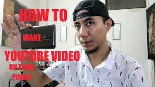 How to make YouTube videos on your phone, OnePlus 6