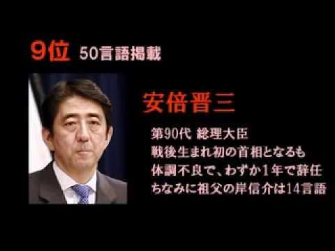日本人の知名度ランキング @ wikipedia