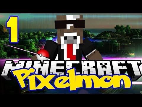 Minecraft Pixelmon Server - Episode 1 - The Adventure Begins ( Minecraft Pokemon 3.0 )