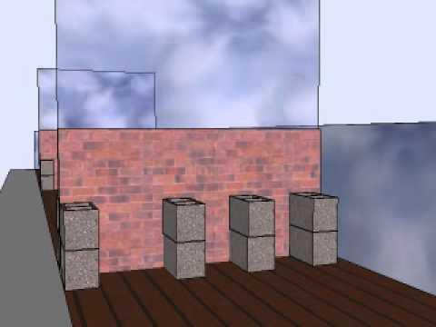 Dise o de terraza con tarima y jardineras en sitges youtube - Disenos de terrazas ...