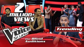 Subhath Sanjula - Shaheena Blind Auditions | The Voice Sri Lanka