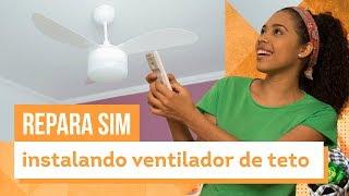 Ventilador de teto - Aprenda a instalar com Paloma Cipriano - CASA DE VERDADE