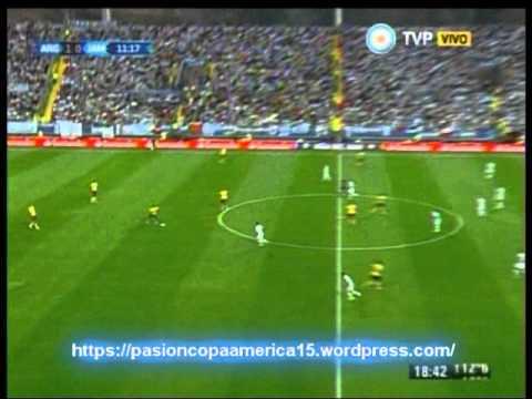 Argentina 1 Jamaica 0 (Radio Cooperativa Chile) Copa America 2015