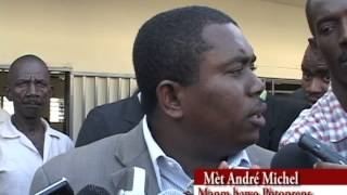 Andre Michel Reaction - Depart de Francisco Rene