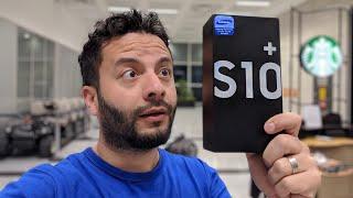 Eşofmanlı Hakkı Hoca ile Samsung Galaxy S10 Plus kutudan çıkıyor!