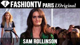 Model Sam Rollinson | Beauty Trends for Spring/Summer 2015 | FashionTV