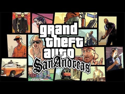 GRAND THEFT AUTO SAN ANDREAS Full Game Walkthrough - No Commentary (GTA San Andreas)