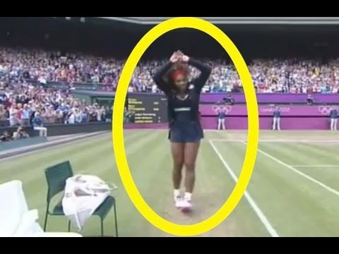 Serena Williams crip walking london olympics 2012 ?