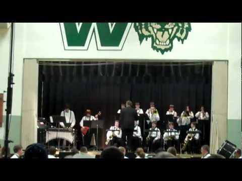 Zoot Suit Riot Played by Quin and Walker Middle School Jazz Band