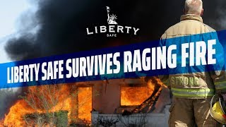 🔥Liberty Safe Survives a Raging Garage Fire: How to Impress a Fire Chief