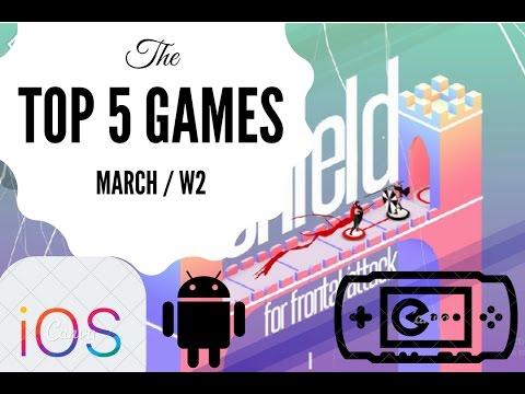 Top 5 IOS Games Of The Week