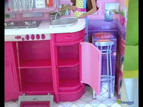Barbie Cooking Fun Kitchen With Doll YouTube