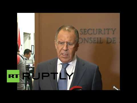 USA: 'Ukraine situation is none of America's business' says Lavrov at UN