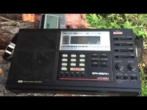 Radio New Zealand International 9700 KHz excellent signal