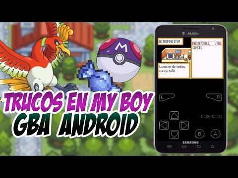 media trucos gameshark para pokemon verde hoja gba