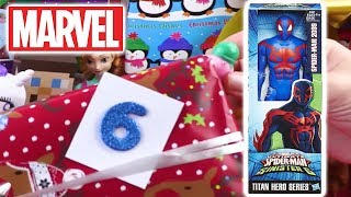 Unwrapping Ultimate Spiderman Sinister 6 🕷 | 12 Days of Christmas: DAY 6| Toy Store - Toys for Kids
