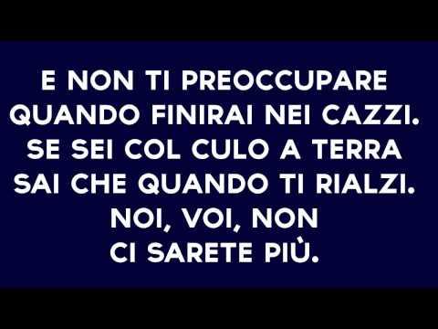 Dai Cazzo Federico - Fedez TESTO