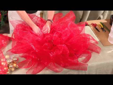 - Comment faire une couronne de noel ...
