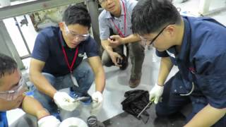 Assembly of 71APM VCT Vertical Circulating Water Pump