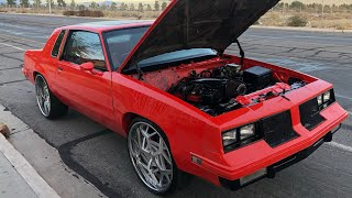 T2G 6.0 CAMMED LS SWAP G BODY 1985 CUTLASS ON RUCCI ( THIS IS NOT A CAR I BUILT JUST SHARING )