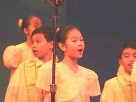 Rosas Pandan , Loboc Children's Choir video