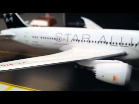 JC Wings 200 Air India B787-8(Star Alliance)Review