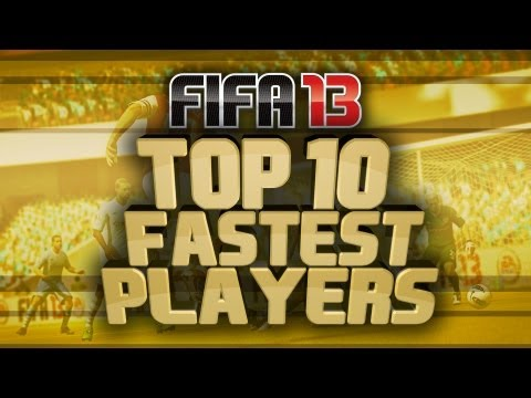 Fifa 13 Ultimate Team - Top 10 Fastest Gold Players!
