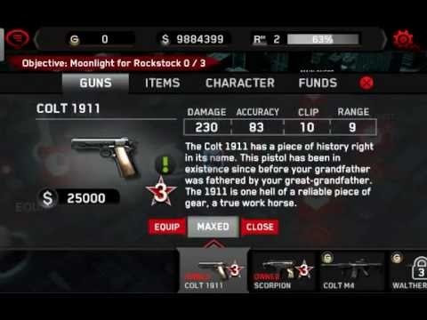 dead Trigger  money and gold hack android (ORGINAL)