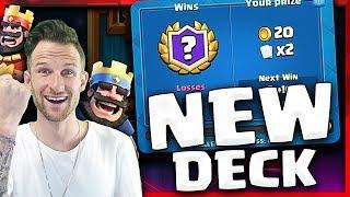 20 Win Challenge • My New Deck Rocks!  |  Clash Royale