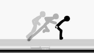 BasicTutorial // Flash pro 8 || Basic stick look and animation. Уроки вязания на видео