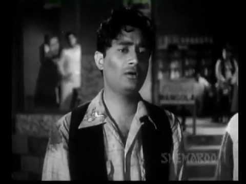 DUKHI MAN MERE  SUN MERA KEHNA-FUNTOOSH (1956)-SAHIR - KISHORE...