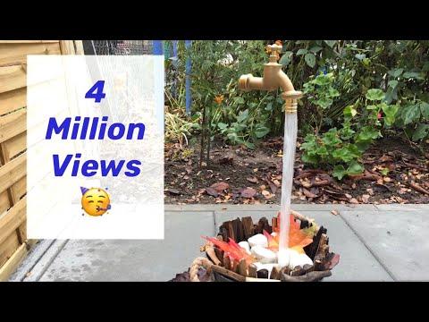 Magischer, schwebender Wasserhahn - DIY