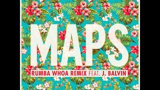 "download lagu Maroon 5 ""maps"" Rumba Whoa Remix Feat. J Balvin gratis"