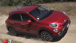 NEW FIAT 500X 2.0 Mjet 140 CV AT9 4X4 CROSS 2015 - FIRST OFF ROAD TEST DRIVE