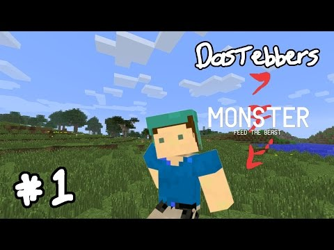 FTB Monster - E1 (Scouting Out a Homestead)