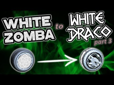 From White Zomba To White Draco Pt. 3 | Rocket League Trading Guide