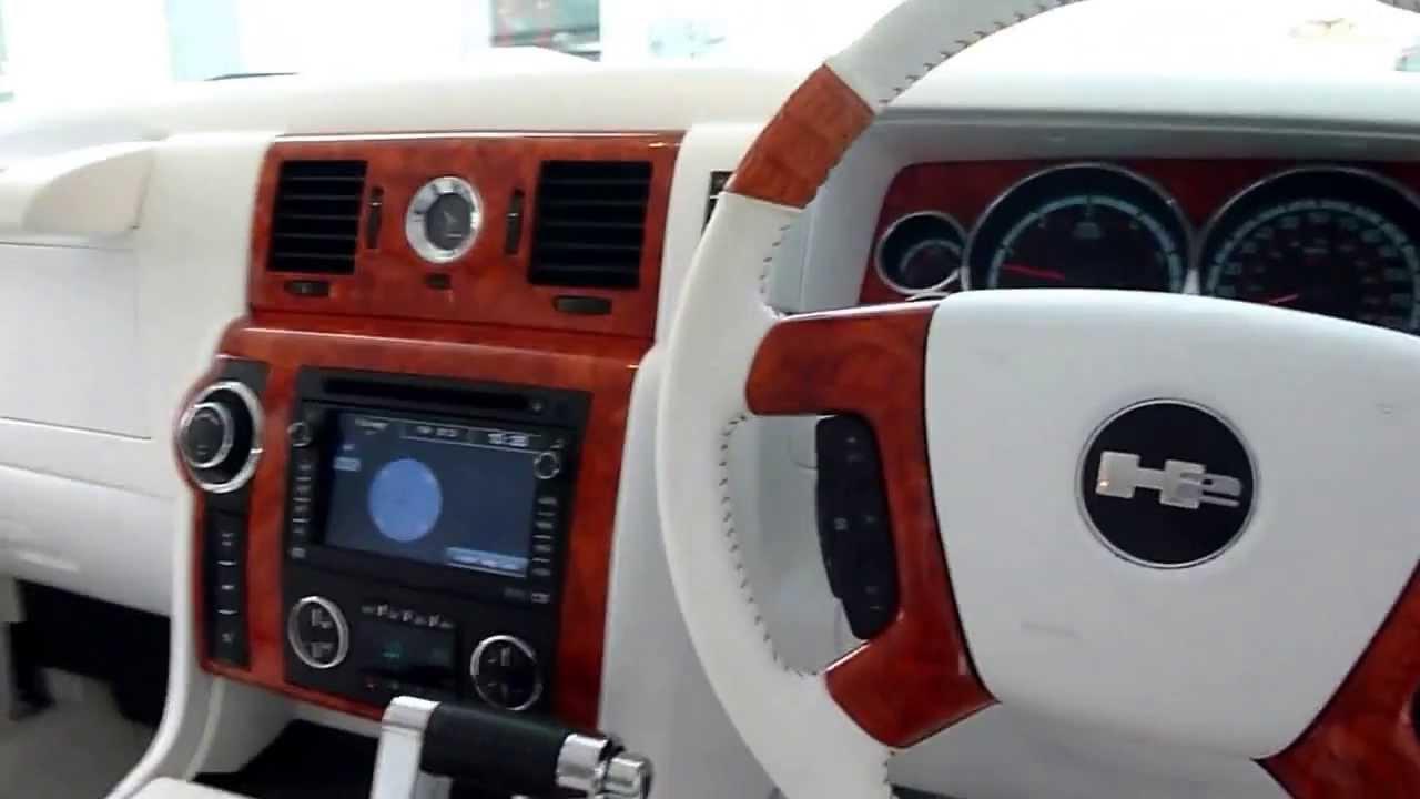 2008 Hummer H2 Rhd Custom Youtube