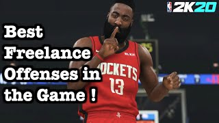 NBA 2K20 Tutorial Freelance Offense Guide How to Run Freelance 2K20 Best Offense Tutorial