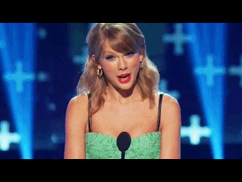Taylor Swift Throws Shade At One Direction's Harry Styles & Ex-Boyfriends? Teen Choice Awards 2014