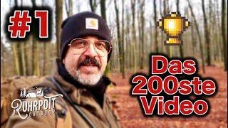 Wanderung am Dachsberg - 200. Video - Ruhrpott Outdoor 1/2