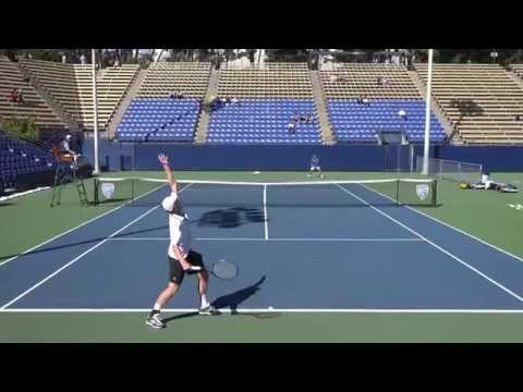 02 28 2015 UCLA Vs Stanford #1 Men's Tennis Singles 4K UHD
